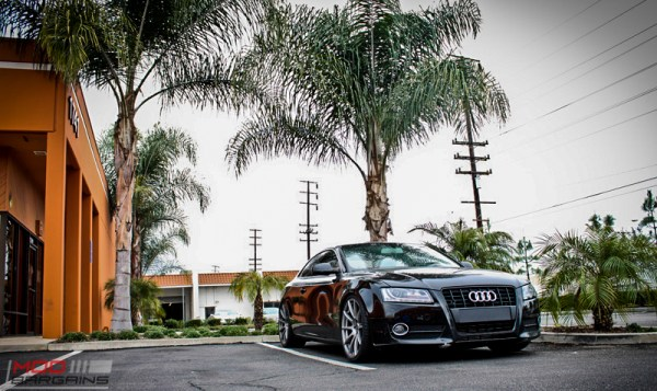 Quick Snap: Audi A5 [B8] Gets A New Look on Forgestar CF10s and KW Coilovers