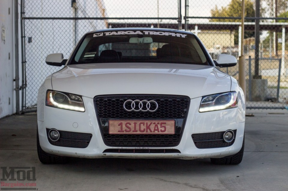 front grille for 2008 2012 audi a5 b8 rs style. Black Bedroom Furniture Sets. Home Design Ideas
