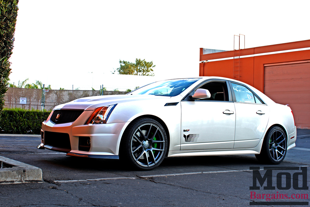 Cadillac Cts V On Eibach Springs With Mike S Cts V