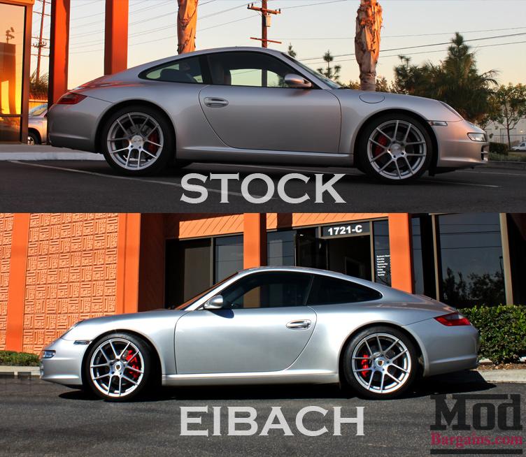 porsche-997-carrera-2s-avant-garde-ruger-split-eibach-springs-vs-stock