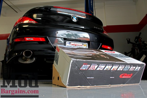Quick Snap: E63 BMW 650i Lowered on Eibach Springs