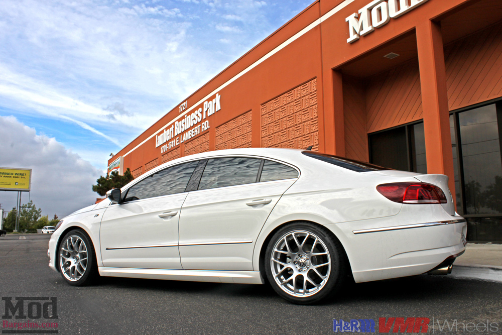 Quick Snap VW Passat CC on HR Springs with VMR V710 Wheels