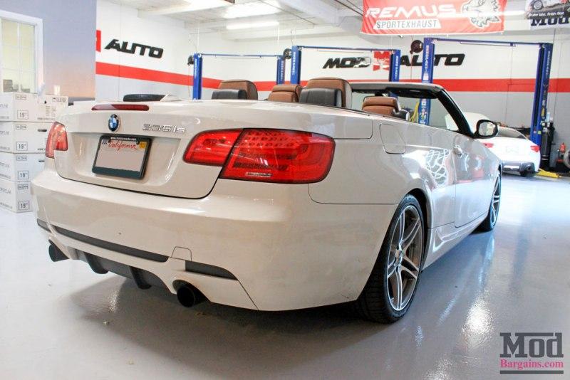 BMW E93 335is White VRSF FMIC Intake Chargepipe JB4 005