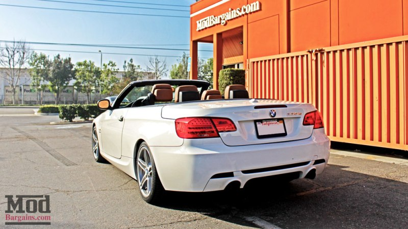 BMW E93 335is White VRSF FMIC Intake Chargepipe JB4 015