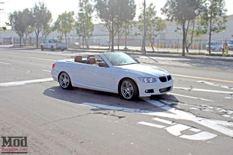 BMW E93 335is White VRSF FMIC Intake Chargepipe JB4 016
