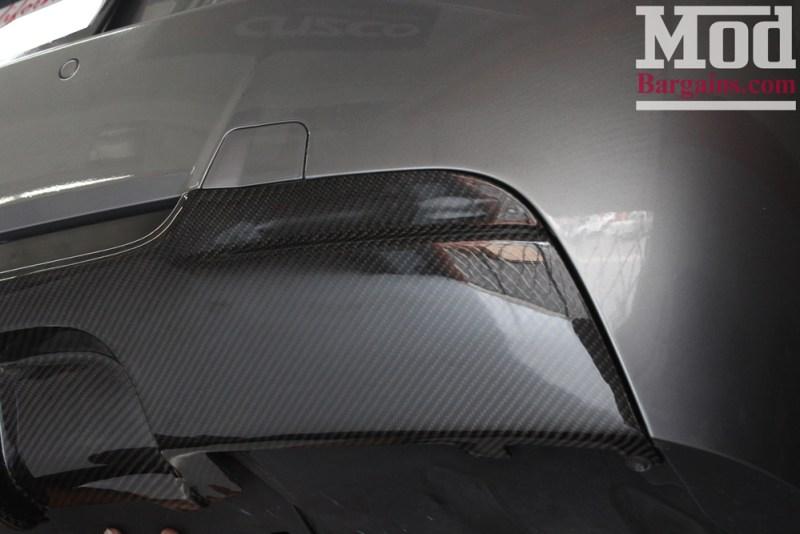 BMW_E92_328i_Gray_CF_Performance_Diffuser_BilsteinShocks_Miro_111_wheels_silver_19x85et35_19x95et33_HRSprings_img006