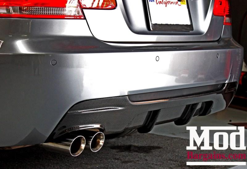 BMW_E92_328i_Gray_CF_Performance_Diffuser_BilsteinShocks_Miro_111_wheels_silver_19x85et35_19x95et33_HRSprings_img008