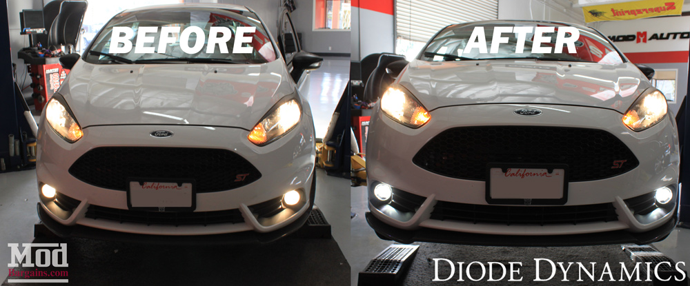 Review Luxeon Led Fog Lights For Fiesta St Hid Kit
