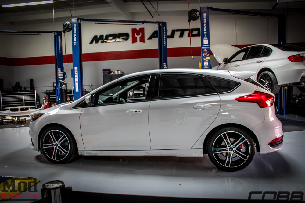 Cobb Stage 1 For 2015 Focus ST Installed @ ModAuto