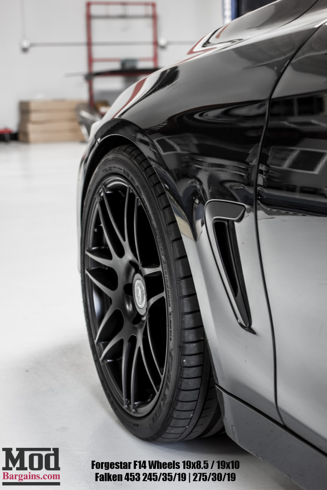 Black BMW Black Forgestar F14s