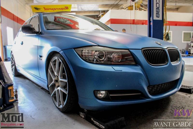 BMW_E90_335xi_Avant_Garde_M510_19in_Silver_KW_V1_Coilovers_AE_Catback_-18