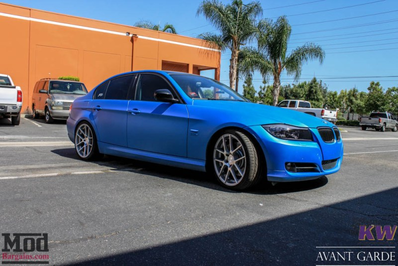 BMW_E90_335xi_Avant_Garde_M510_19in_Silver_KW_V1_Coilovers_AE_Catback_-29