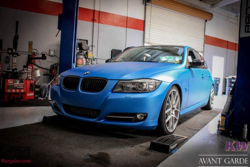 BMW_E90_335xi_Avant_Garde_M510_19in_Silver_KW_V1_Coilovers_AE_Catback_-6