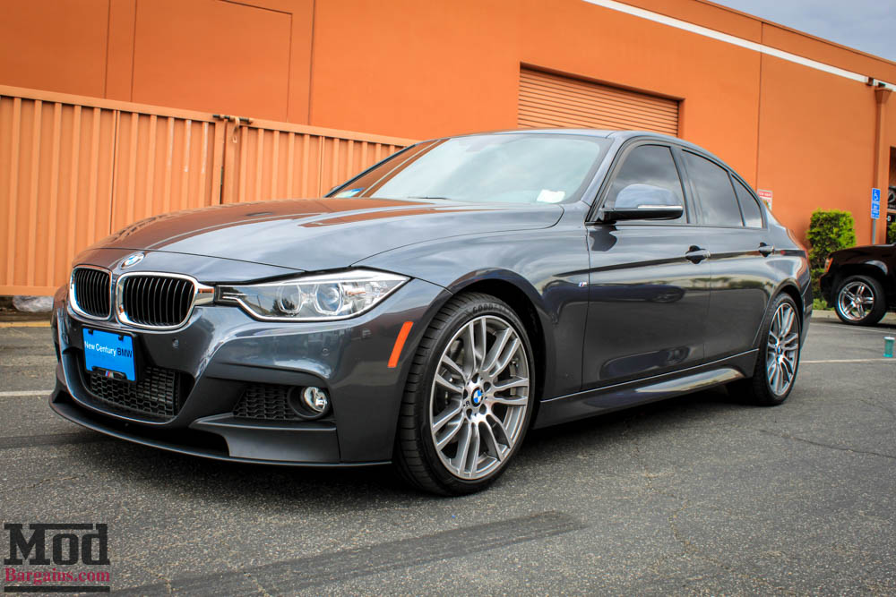 BMW F30 335i M Sport Style Diffuser for Quad Exhaust Pics