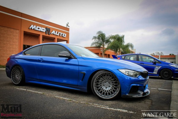 Quick Snap: Modded BMW F32 435i on 20in Avant Garde M540 Wheels