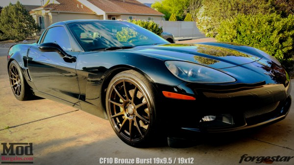 Quick Snap: Corvette C6 on Bronze Burst Forgestar CF10