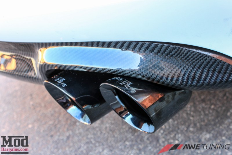 Audi_B8_A5_20T_AWE_Quad_Exhaust_Black_Tips_CF_Diffuser-24