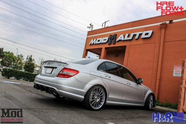Project Car Update: Ron's Mercedes W204 C63 AMG gets a Carbon'd Out New Look + HRE FF15 Wheels