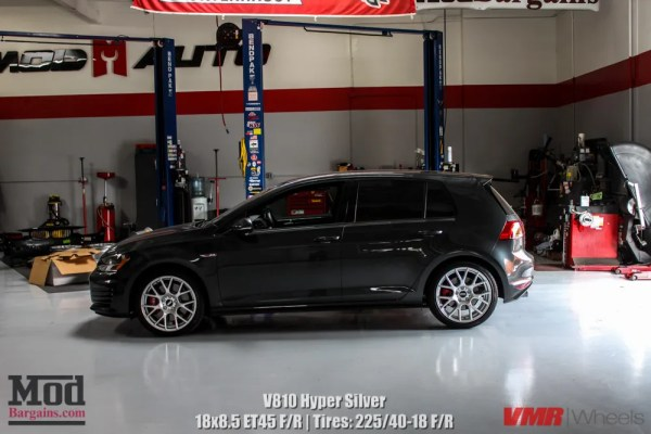Quick Snap: VW Golf GTI Mk7 on VMR V810 Wheels