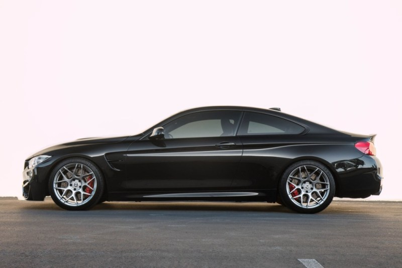 BMW F82 M4 on HRE FF01 Silver (3)