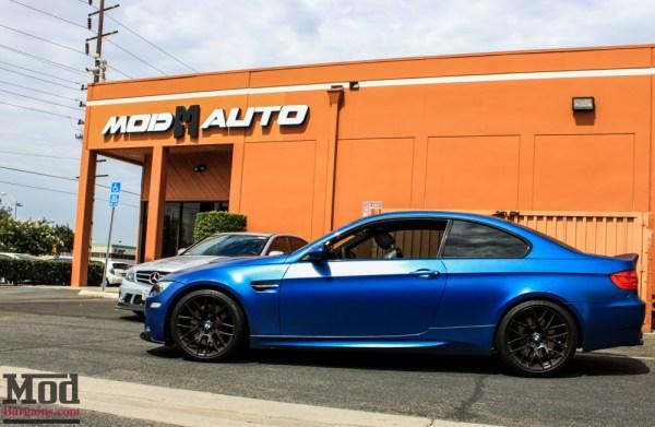 Video: Frozen Blue E92 BMW M3 with Remus Race Exhaust