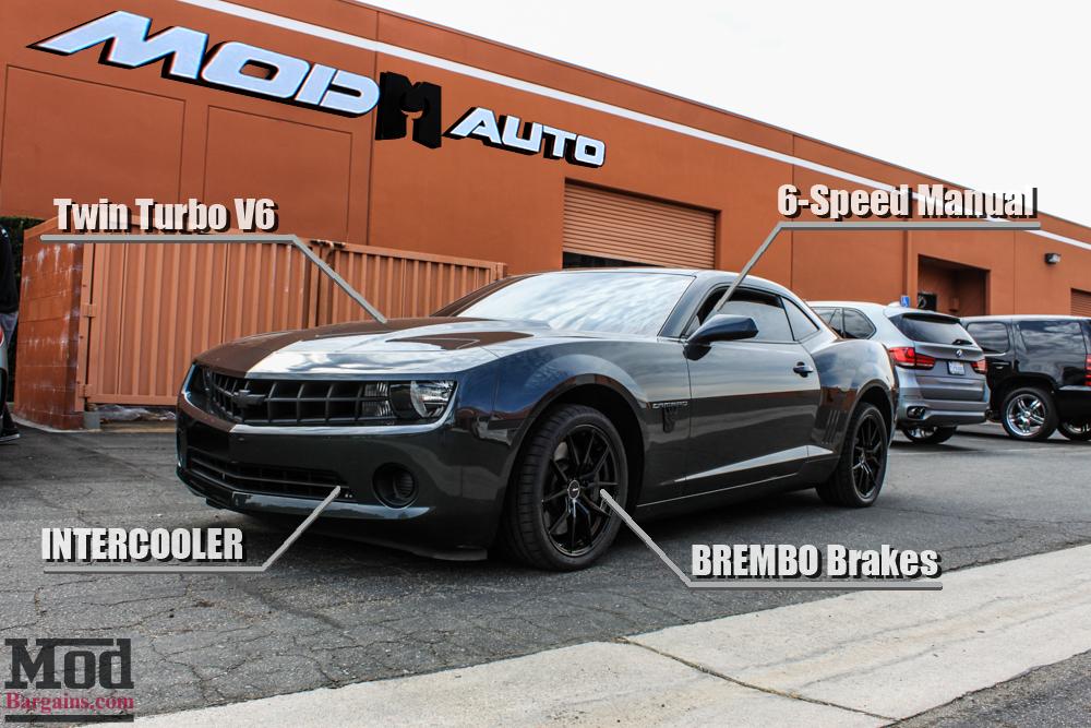 twin turbo v6 camaro gets brembo brakes new wheels. Black Bedroom Furniture Sets. Home Design Ideas