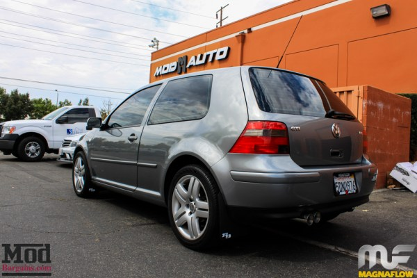 VW Golf GTI VR6 Magnaflow Exhaust Installed w/ Video