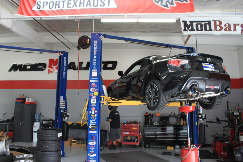 Scion FR-S Subaru BRZ Transmission Diff Oil Change MOTUL_IMG_0923