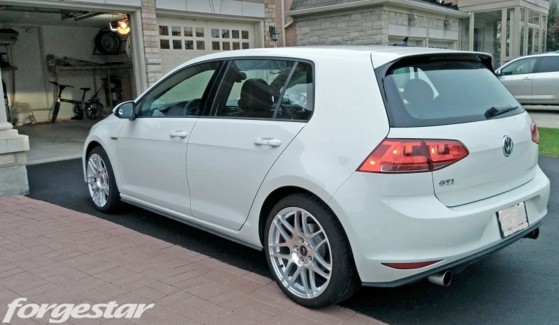 VW Golf GTI Mk7 Forgestar F14 Titanium delaynomore img002