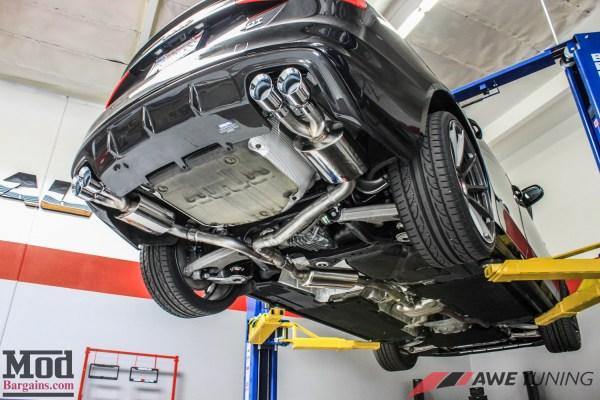 Quad Makeover: Audi B8 A4 2.0T AWE Exhaust & Carbon Exterior Mods Installed @ ModAuto