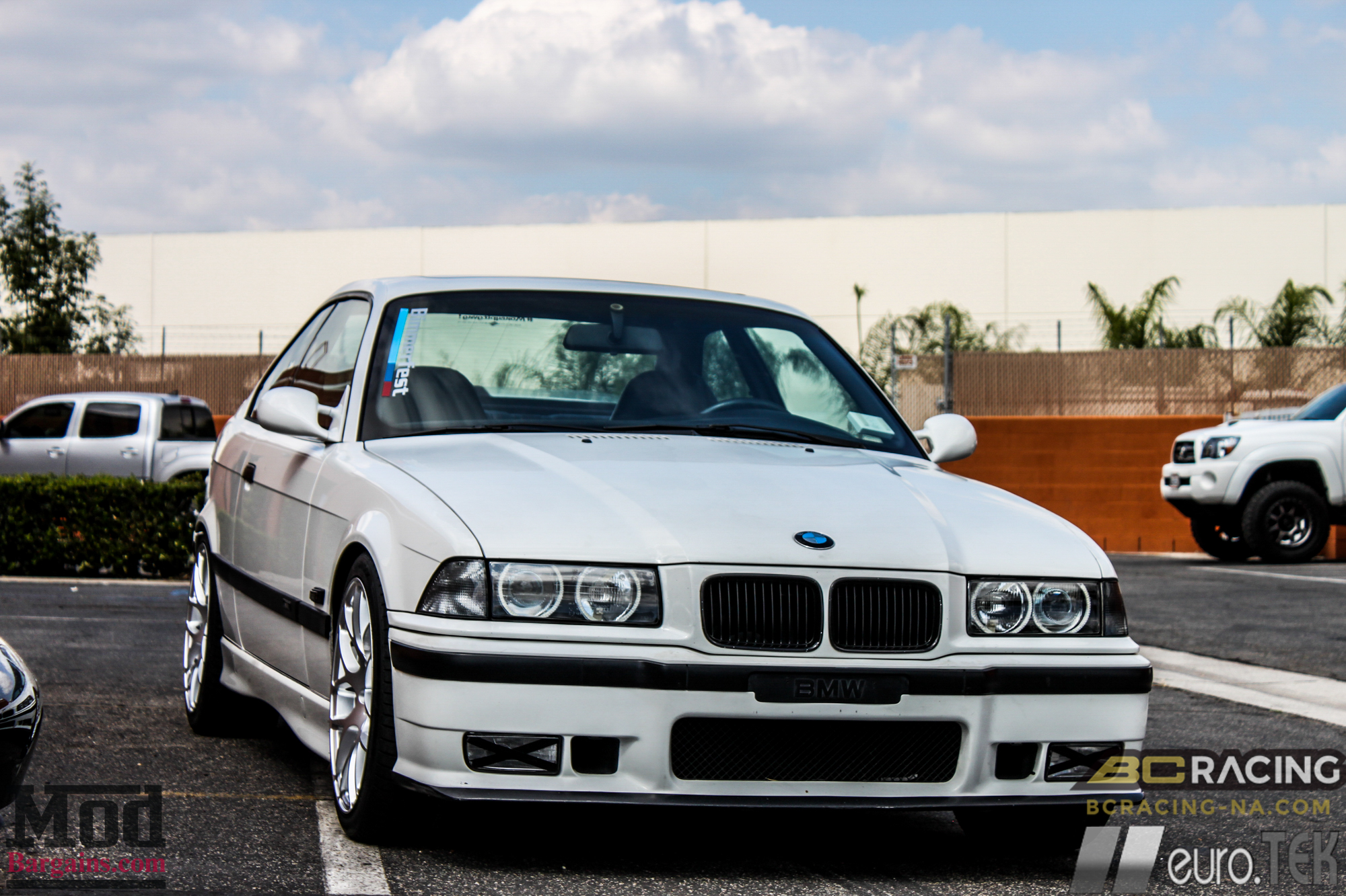 E36 Bmw M3 On Bc Coilovers Eurotek Wheels