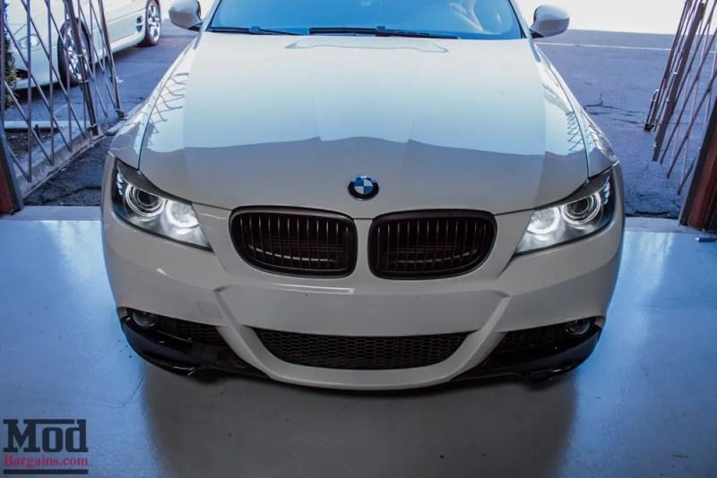 BMW_E90_White_CF_Splitters_Halos_Black_Kidneys-12