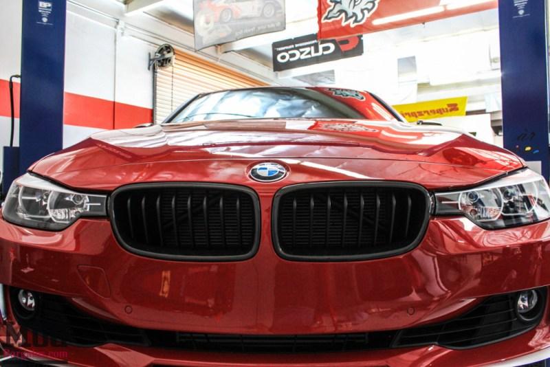 BMW_F30_328i_Red_CF_Forgestar_F14_SemiGlossBlack (3)