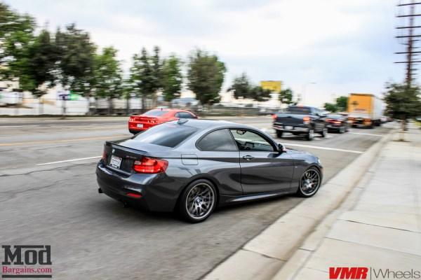 Quick Snap: F22 BMW M235i on VMR VB3 Wheels