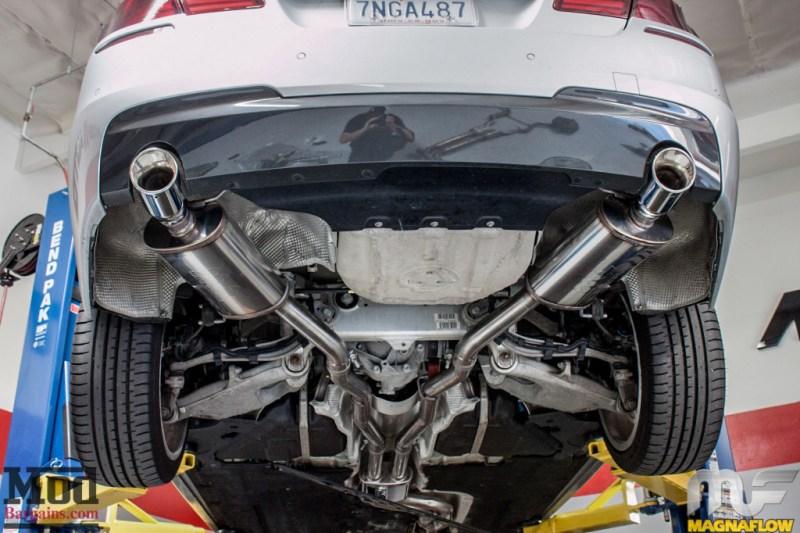 BMW F10 535i Silver Magnaflow Catback Exhaust (5)
