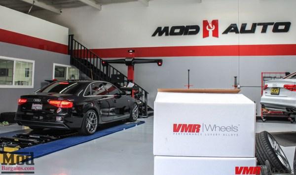 Quick Snap: B8.5 Audi A4 2.0T Quattro on VMR V803 Wheels @ ModAuto