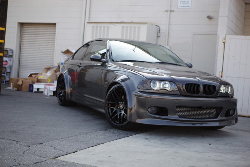 BMW_E46_330ci_Widebody_Forgestar_F14_GlossBlack_`19x9_19x11_img001