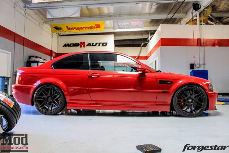 BMW_E46_M3_Imola_Red_Mishimoto_Radiator_ForgestarF14_KW_V3_HRsways-27