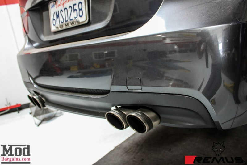 BMW_E90_335i_Remus_quad_Exhaust_M3_BumperCFlip-3