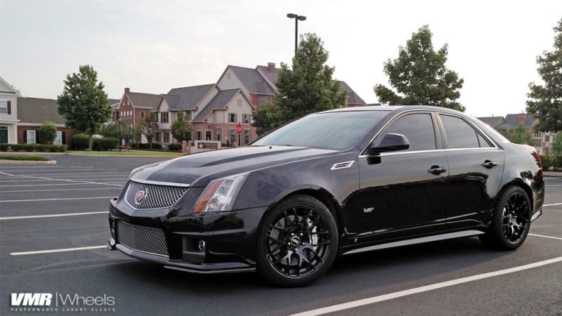 Cadillac CTS-V VMR V710 19in MAtte Black