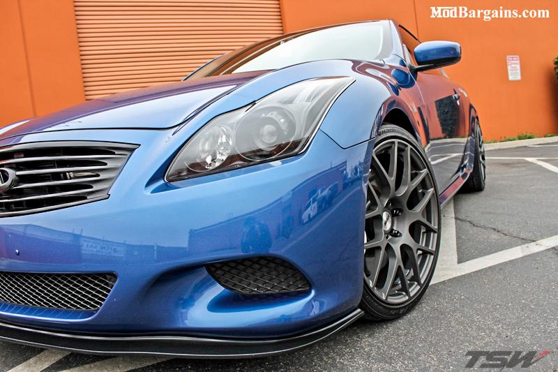 TSW-Nurburgring-Wheels-Matte-Gunmetal-Infiniti-G37S-Coupe-Athens-Blue (4)