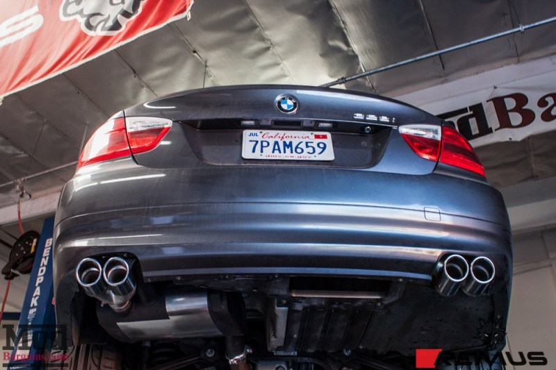 BMW_E90_328i_RemusQuad_Injen_Intake_AvantGarde_m359_18x85_18x95_2