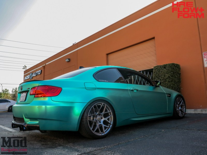 BMW_E92_M3_MatteTeal_HRE_FF01_Fog-8