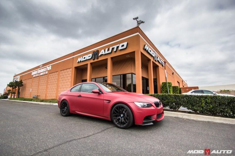 BMW_E92_M3_Matte_Red_Temoor_Avant_Garde_M359_MatteBlack (6)