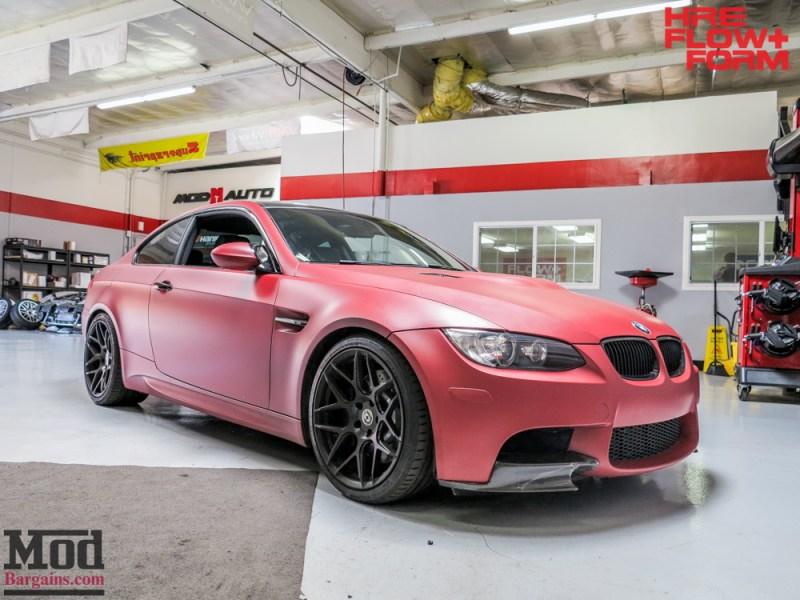 BMW_E92_M3_Matte_Red_Temoor_HRE_FF01_Tarmac (11)