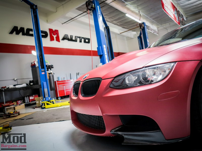 BMW_E92_M3_Matte_Red_Temoor_HRE_FF01_Tarmac (5)