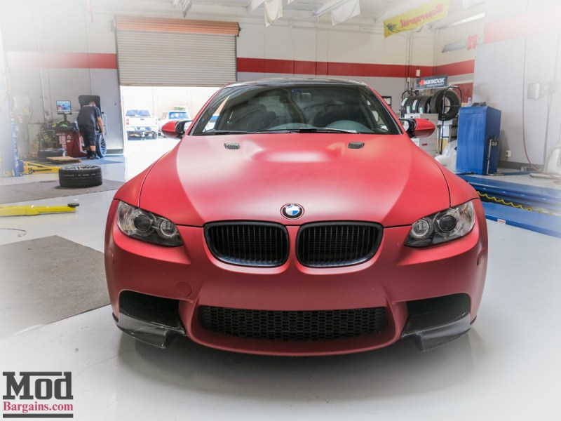 BMW_E92_M3_Matte_Red_Temoor_HRE_FF01_Tarmac (6)
