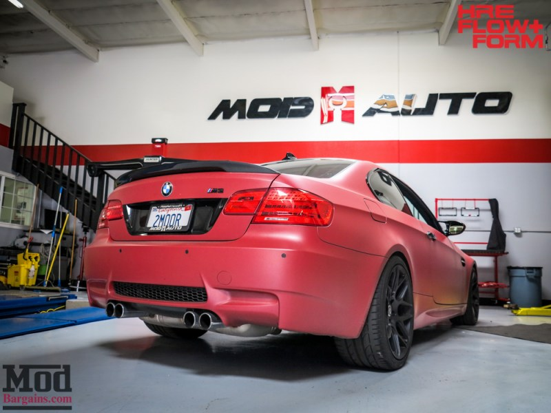 BMW_E92_M3_Matte_Red_Temoor_HRE_FF01_Tarmac (8)