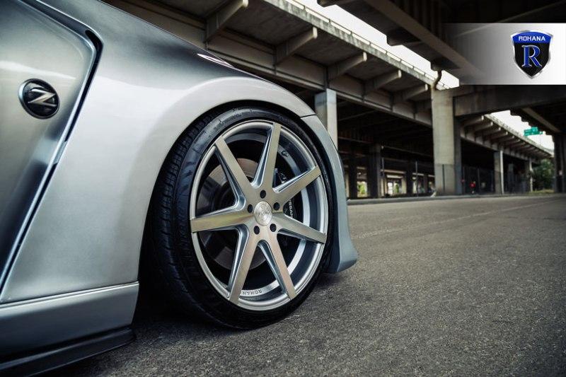 Nissan_Z34_370Z_Rohana_RC7_MachineSilver_20x9_20x11_img008