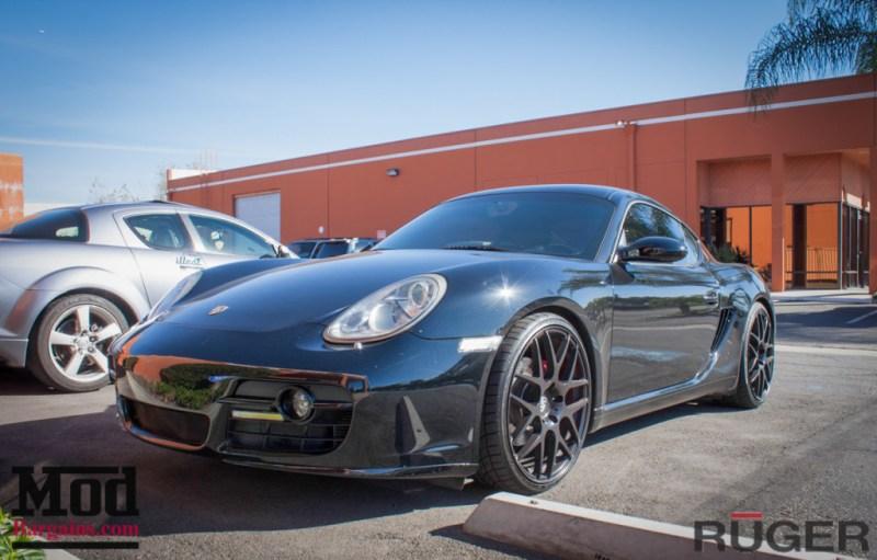 Porsche_987.2_Cayman_S_Ruger_Mesh_MatteBlack_20in_Springs_Exhaust-9